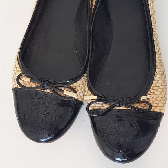 Tory Reva Burch Shoes   Catherine Raffia Flats Like Reva Tory Ballet   Poshmark 869bd9